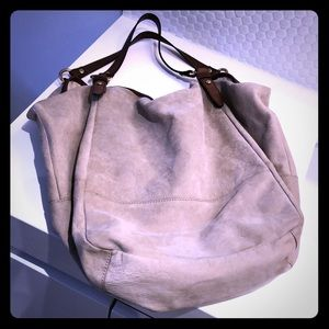 JCrew Collection suede bag